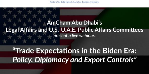 AmCham Abu Dhabi Webinar on US Trade Issues